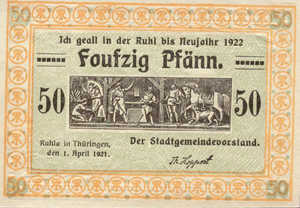 Germany, 50 Pfennig, 1153.2