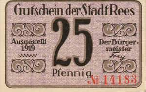 Germany, 25 Pfennig, R14.1a