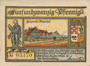 Germany, 25 Pfennig, 1164.1bx
