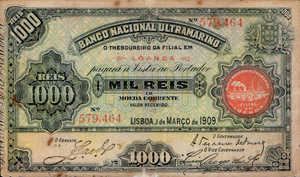 Angola, 1,000 Real, P27, LOT 27019