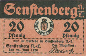 Germany, 20 Pfennig, S72.2d