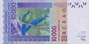West African States, 10,000 Franc, P918Sa