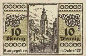 Germany, 10 Pfennig, 1241.1a