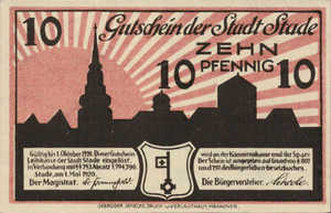 Germany, 10 Pfennig, S96.3a