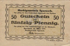 Germany, 50 Pfennig, S92.4