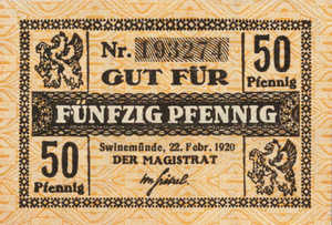 Germany, 50 Pfennig, S131.5b