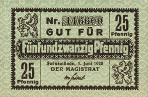 Germany, 25 Pfennig, S131.6a