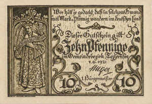 Germany, 10 Pfennig, 1313.1