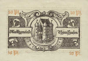 Germany, 50 Pfennig, T8.2c