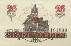 Germany, 25 Pfennig, V3.4a