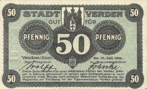 Germany, 50 Pfennig, V3.3b