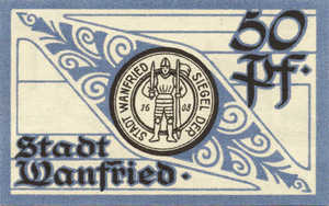 Germany, 50 Pfennig, W9.1c