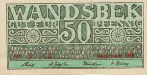 Germany, 50 Pfennig, W8.3a