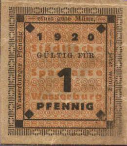 Germany, 1 Pfennig, 1382.1
