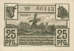 Germany, 25 Pfennig, W46.5a
