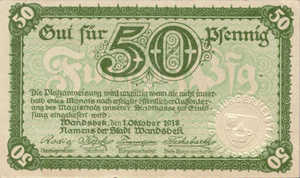 Germany, 50 Pfennig, W8.2