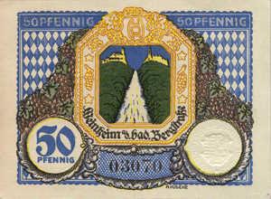 Germany, 50 Pfennig, W21.2b
