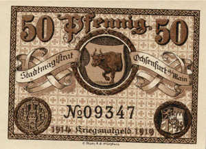 Germany, 50 Pfennig, O10.3