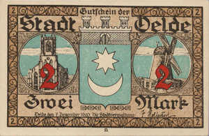 Germany, 2 Mark, 1007.1