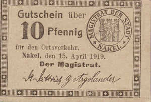 Germany, 10 Pfennig, N1.10b