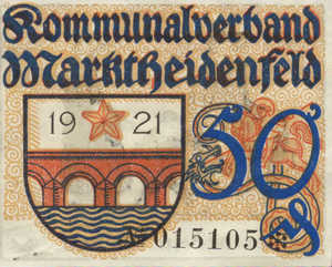 Germany, 50 Pfennig, M15.4