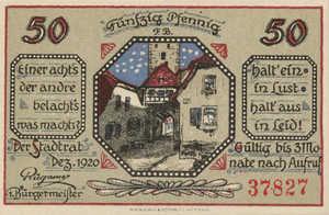 Germany, 50 Pfennig, M3.1