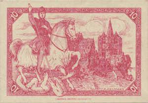 Germany, 10 Pfennig, L45.3a