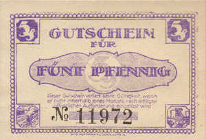 Germany, 5 Pfennig, L30.1e