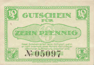 Germany, 10 Pfennig, L30.1f