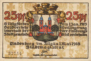 Germany, 25 Pfennig, L47.3b