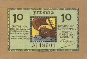 Germany, 10 Pfennig, L46.1a