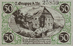 Germany, 50 Pfennig, 819.1a