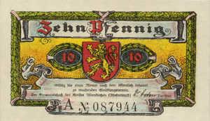 Germany, 10 Pfennig, 24.1b
