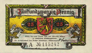 Germany, 25 Pfennig, 24.1b