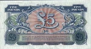Great Britain, 5 Pound, M23