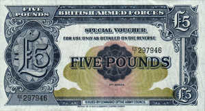 Great Britain, 5 Pound, M23