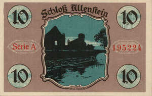 Germany, 10 Pfennig, 13.1a