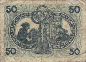 Germany, 50 Pfennig, A19.5c