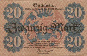 Germany, 20 Mark, 030.03a
