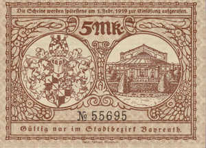 Germany, 5 Mark, 034.01a