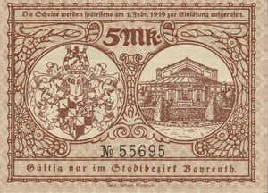 Germany, 5 Mark, 034.01a