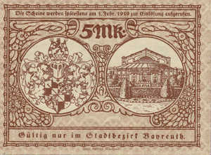 Germany, 5 Mark, 034.01b