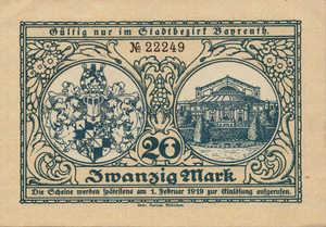 Germany, 20 Mark, 034.02a