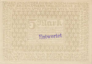 Germany, 5 Mark, 037.01