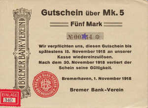 Germany, 5 Mark, 066.01