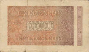 Germany, 1,000,000 Mark, P93