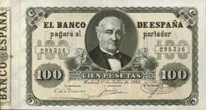 Spain, 100 Peseta, P31
