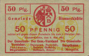 Germany, 50 Pfennig, B55.13c
