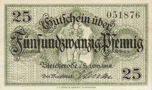 Germany, 25 Pfennig, B64.1b