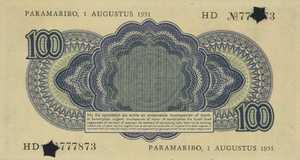 Suriname, 100 Gulden, P94r